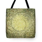 Mosaic Galaxy In Gold Tote Bag