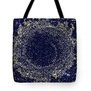 Mosaic Galaxy Midnight Blue Tote Bag