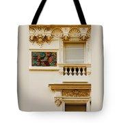 Mosaic In Nice France Tote Bag