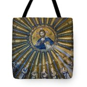 Mosaic Of Christ Pantocrator Tote Bag by Ayhan Altun