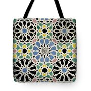 Mosaic Pavement In The Dressing Room Of The Sultana Tote Bag