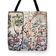 Mosaic Tiles On South Street Tote Bag