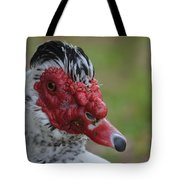 Moscovy Duck With Hairdo Tote Bag