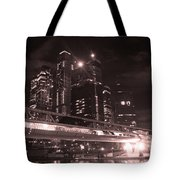 Moscow At Night Tote Bag