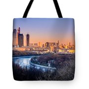 Moscow City Tote Bag