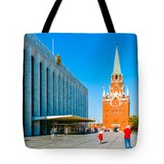 Moscow Kremlin Tour - 15 Of 70 Tote Bag