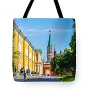 Moscow Kremlin Tour - 17 Of 70 Tote Bag