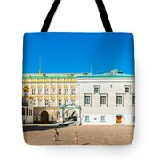 Moscow Kremlin Tour - 28 Of 70 Tote Bag