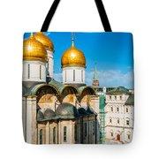 Moscow Kremlin Tour - 31 Of 70 Tote Bag