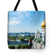 Moscow Kremlin Tour - 33 Of 70 Tote Bag
