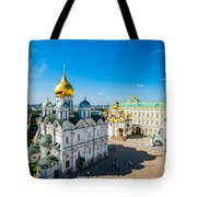Moscow Kremlin Tour - 34 Of 70 Tote Bag