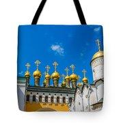Moscow Kremlin Tour - 42 Of 70 Tote Bag
