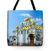 Moscow Kremlin Tour - 45 Of 70 Tote Bag