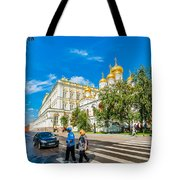 Moscow Kremlin Tour - 52 Of 70 Tote Bag