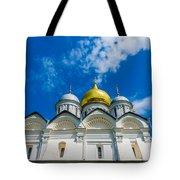Moscow Kremlin Tour - 58 Of 70 Tote Bag