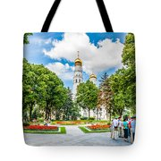 Moscow Kremlin Tour - 59 0f 70 Tote Bag