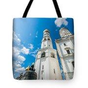 Moscow Kremlin Tour - 66 Of 70 Tote Bag