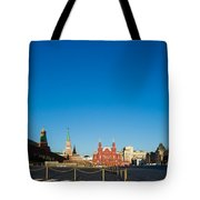 Moscow Red Square From South-east To North-west Tote Bag