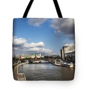 Moscow River - Russia Tote Bag