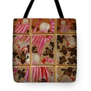 Moses And The Quail Tote Bag