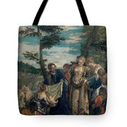 Moses Saved From The Waters Tote Bag