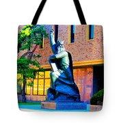 Moses Statue At The Main Library Tote Bag