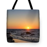 Moshup Beach Sunrise Tote Bag
