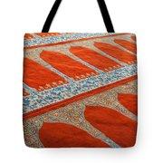 Mosque Carpet Tote Bag