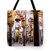 Mosque Cathedral Of Cordoba  Tote Bag