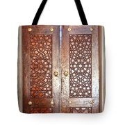 Mosque Doors 03 Tote Bag