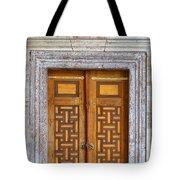 Mosque Doors 05 Tote Bag