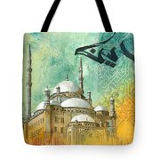 Mosque Of Muhammad Ali Tote Bag