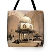 Mosque Of Sultan Hassan Tote Bag