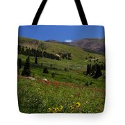 Mosquito Blooms Tote Bag