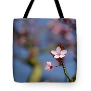 Moss And Blossoms Tote Bag