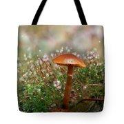 Moss Bokeh Tote Bag