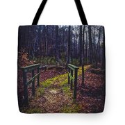 Moss Covered Path Tote Bag