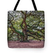 Moss Draped Limbs Tote Bag