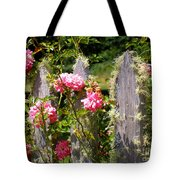 Moss Fence Tote Bag