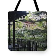 Moss Garden Temple - Kyoto Japan Tote Bag