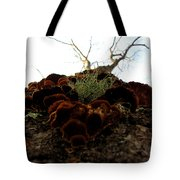 Moss In Fungus Tote Bag