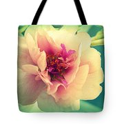 Moss Rose Abstract Tote Bag