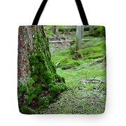 Mossy Endevor Tote Bag