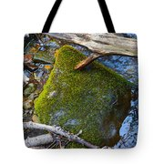 Mossy Rock Tote Bag