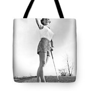 Most Beautiful Golfer Of 1957 Tote Bag