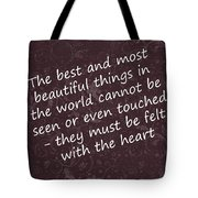 Most Beautiful One Tote Bag