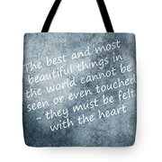 Most Beautiful Two Tote Bag