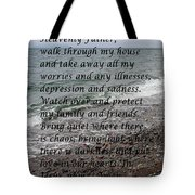 Most Powerful Prayer With Seascape Tote Bag