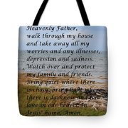 Most Powerful Prayer With Seashore Tote Bag