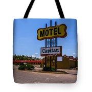 Motel Capitan Tote Bag